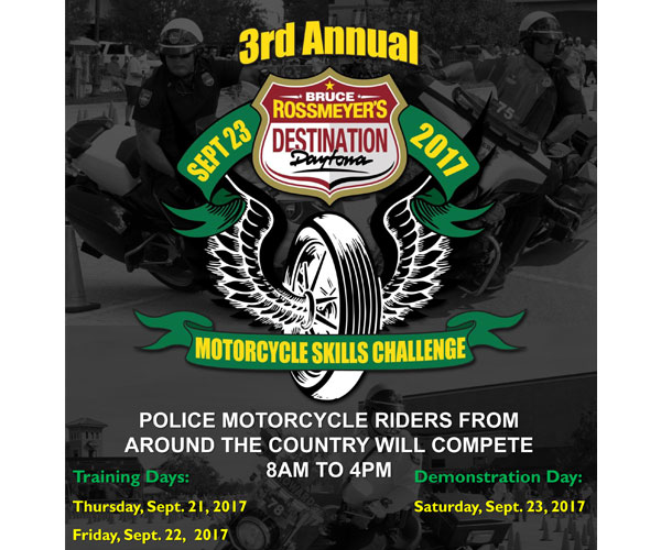 3rd Annual Bruce Rossmeyer's Destination Daytona Motorcycle Challenge