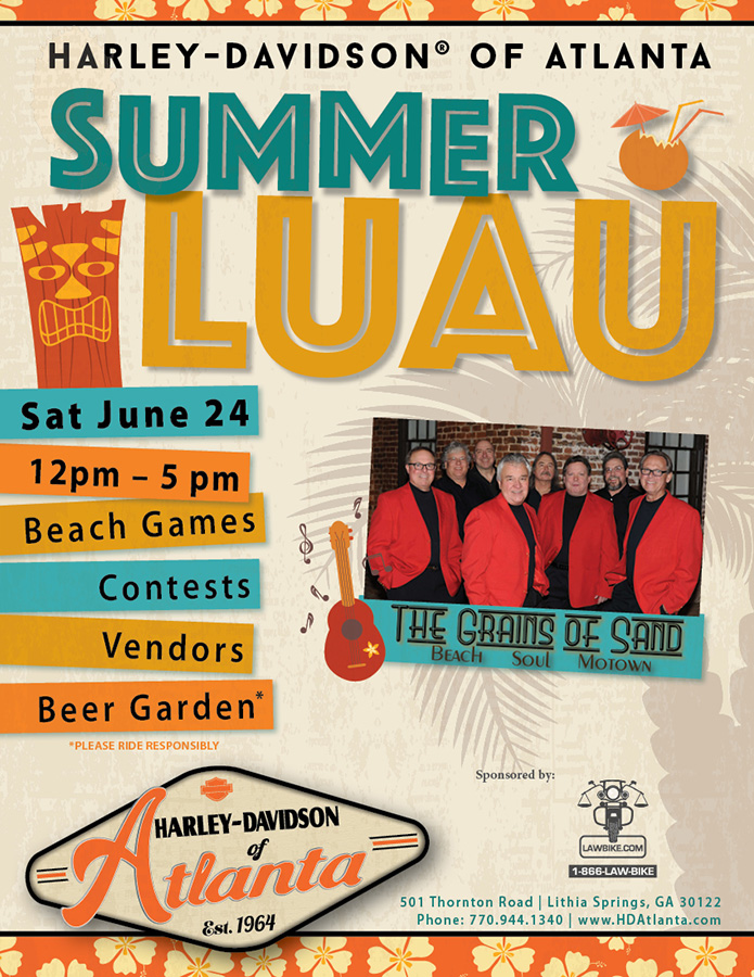 Summer Luau Party!