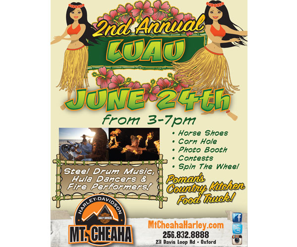 Mt. Cheaha Harley-Davidson 2nd Annual Luau