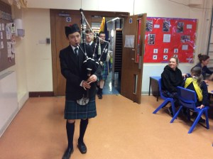 Piping in the room