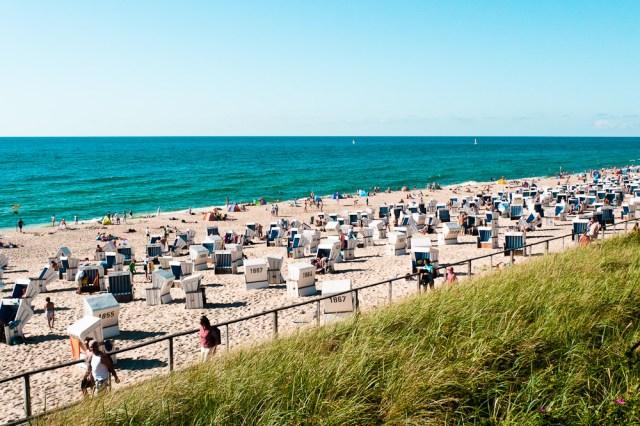 Strand in Westerland, Sylt