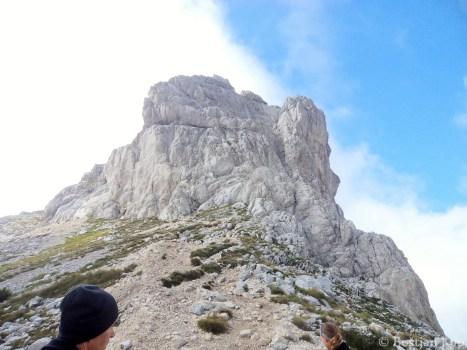 Bobotov Kuk (2523 m), uradno najvišji vrh Črne Gore