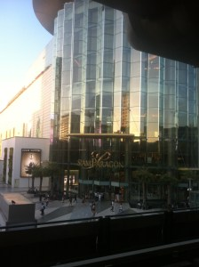 Siam Paragon, one of the biggest shopping centers we've ever seen