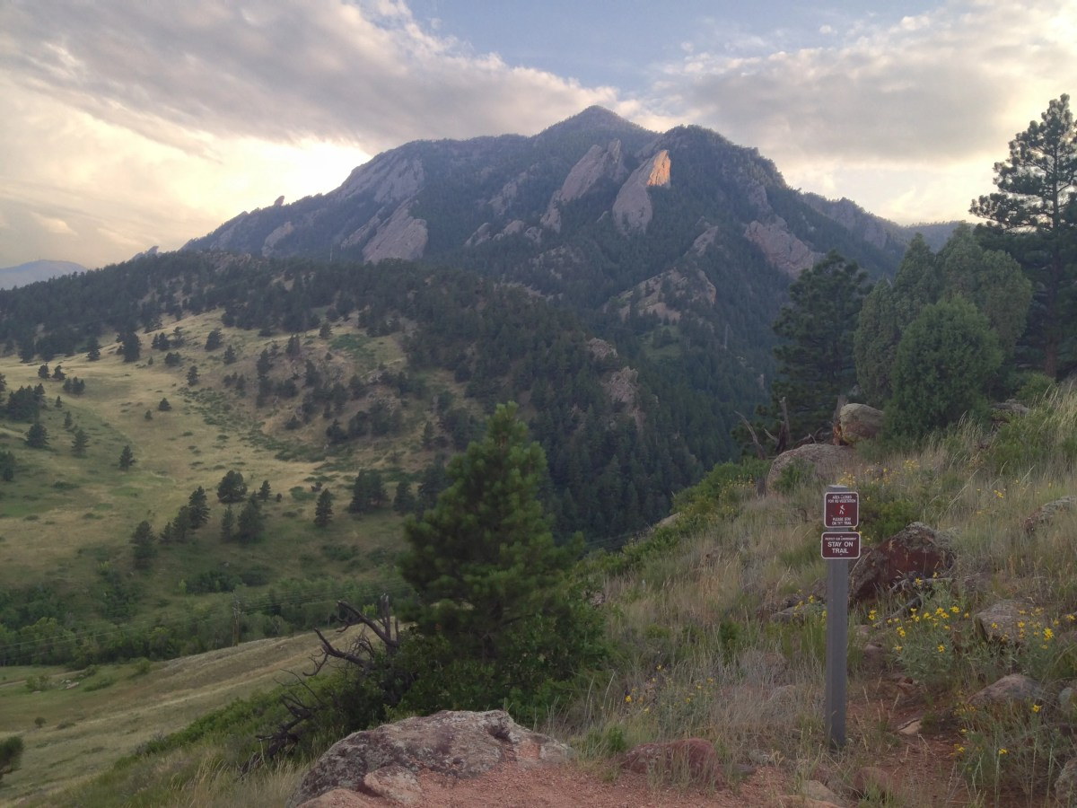 FATE Brewing and Boulder Sunsets = Awesome
