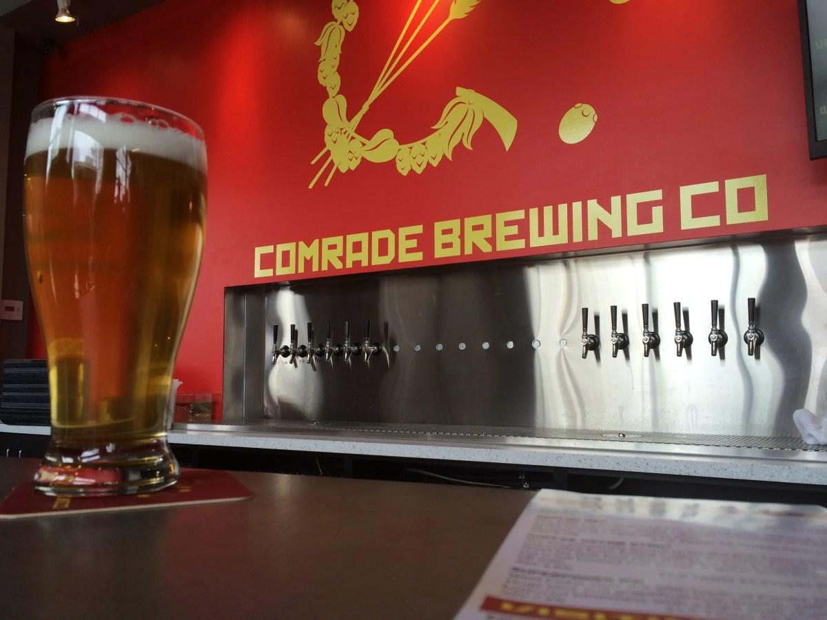 Grand Opening of Comrade Brewing Company