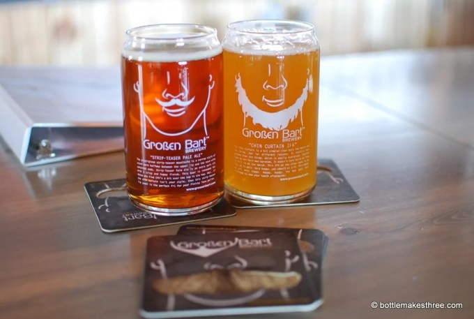 Review of Großen Bart Brewery in Longmont, CO | http://bottlemakesthree.com