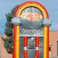 Jukebox Radio Inflatable