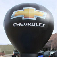 Chevy Hot Air Balloon Shape