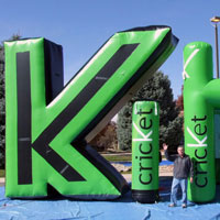 Cricket Custom Inflatables