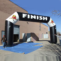 DCB Inflatable Arch