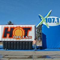 DMS Radio Inflatables