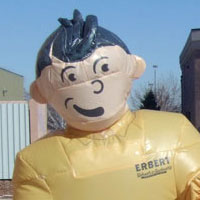 Erbert and Gerbert Inflatable Costumes