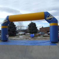 Greater Louisville Inflatable Arch