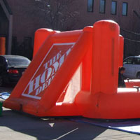 Home Depot Inflatable Foosball Court