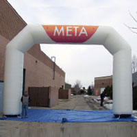 Meta AVON Inflatable Arch
