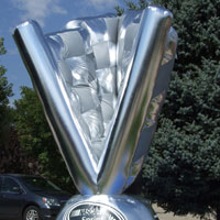 Nascar Sprint Trophy Custom Inflatable