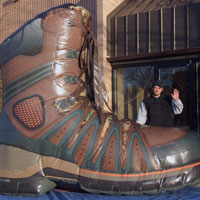 Rocky Boot Inflatable