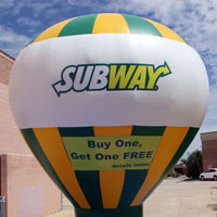 Inflatable Subway High Rider