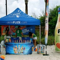 Fuze Pop Up Tent Banner and Table Cover