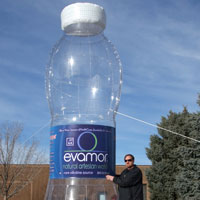 Evamor Water Inflatable Bottle