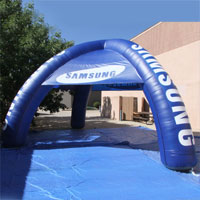 Samsung Dome Inflatable Tent