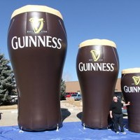 Inflatable Guinness Pints