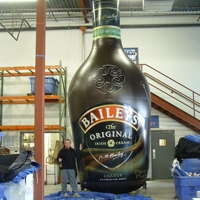 Baileys Inflatable Bottle
