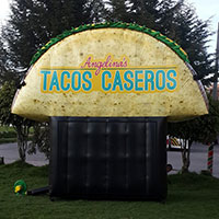 Angelinas Taco Caseros Inflatable Taco