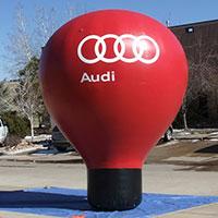 Audi Inflatable Hot Air Balloon Shape