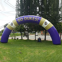 Dukes Inflatable Arch