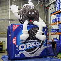 Oreo Inflatable Cookie Character