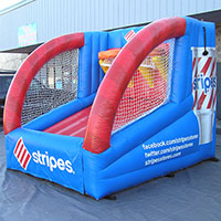 Stripes Inflatable Jump Shot