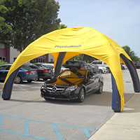 Pronto Wash Sealed Inflatable Tent