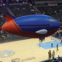 Southwest Helium Inflatable Plane