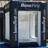 Banc First Inflatable Cash Machine