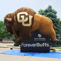 CU Boulder Inflatable Mascot Alumni Association