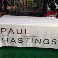 Paul Hastings Unfitted Table Cover