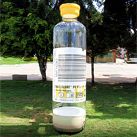 BioMerieux Inc. Inflatable Bottle