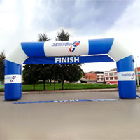 Charm City Run Inflatable Arch