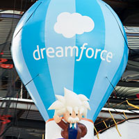 Dreamforce Hot Air Balloon Shape
