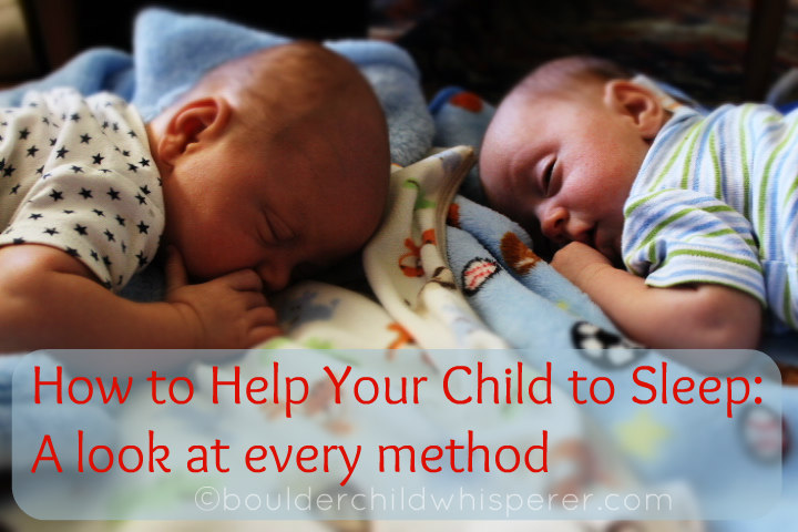 The spectrum of helping your child to sleep