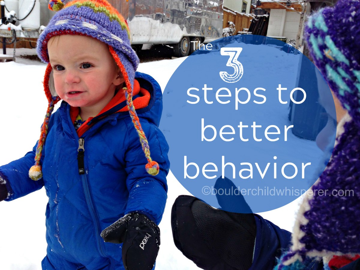 The 3 steps to better behavior