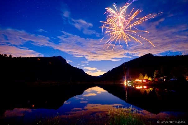 Private Rocky Mountain Fireworks Show
