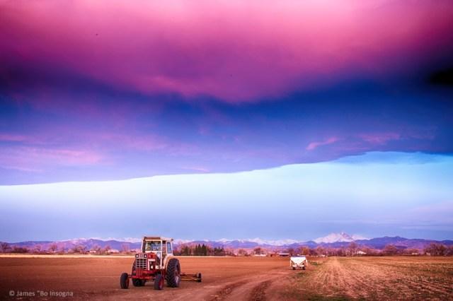 Colorado Country Intense Morning View