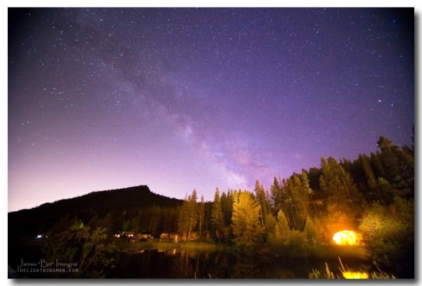 Colorado Rocky Mountain Milky Way View