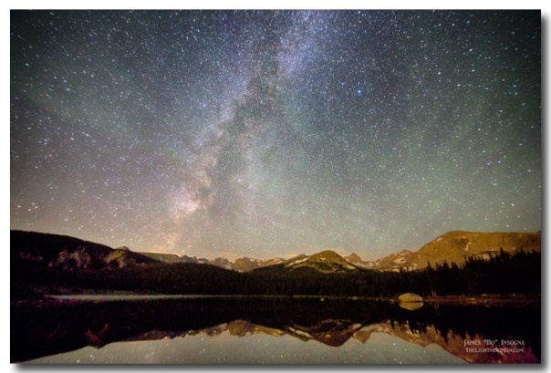 Milky Way Over The Colorado Indian Peaks
