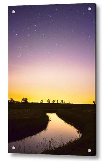As Nighttime Falls Acrylic Print