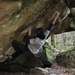 Watch Bernd Zangerl doing the 2nd ascent of Entlinge 8C
