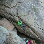 Daniel Woods bouldering in Colorado – V14 / V15