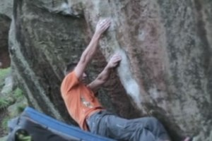 Caley Roadside with Matt Birch on Ben's Groove sit (7c+)